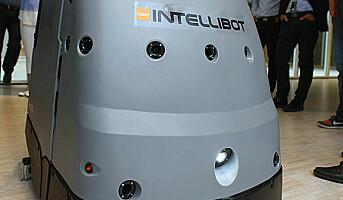 Innovasjonsdag med IntelliBot renholdsrobot