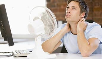 Hvor varmt kan det bli på jobben?