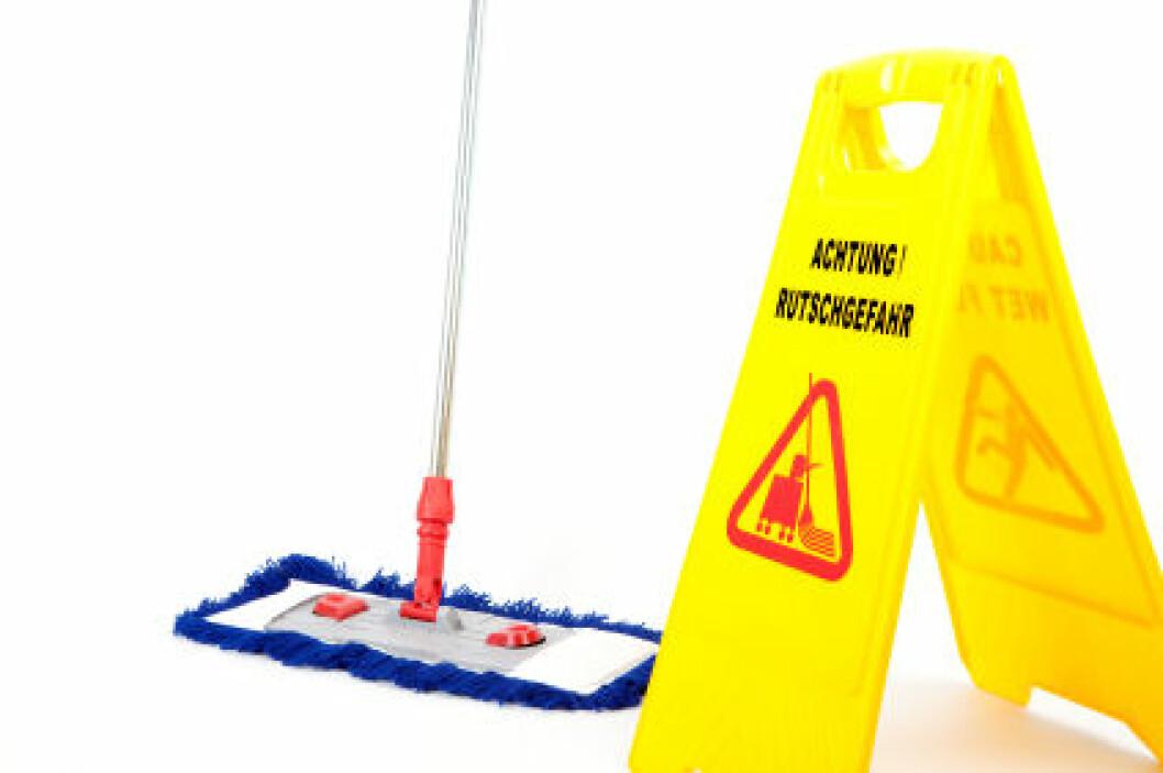 Mopp og gulv