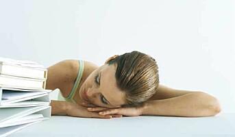 Dårlig søvn på helsa løs