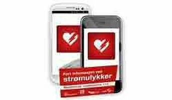 App for strømulykker