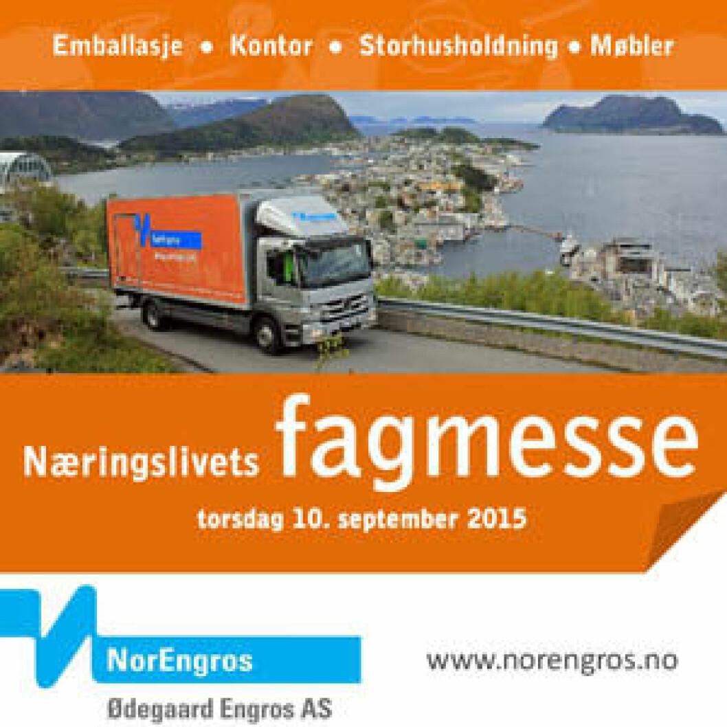 Fagmesse Norengros Ålesund kvad
