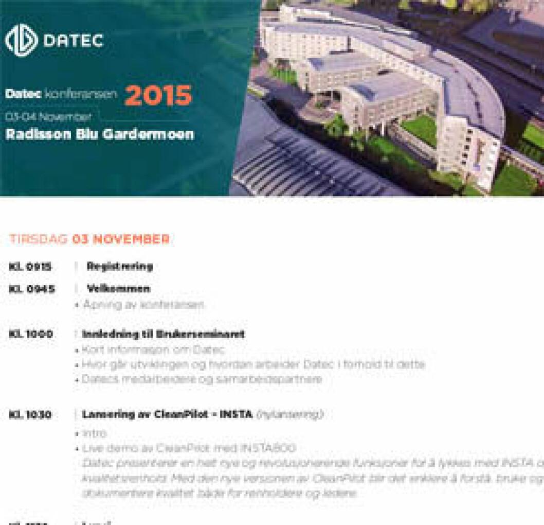 Datec-konferansen 2015