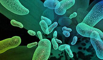 Antibakterielt lys