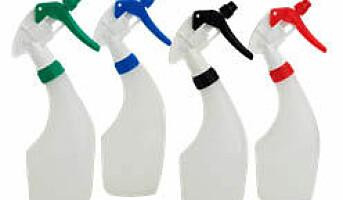 Sprayflasker med dusjdyse