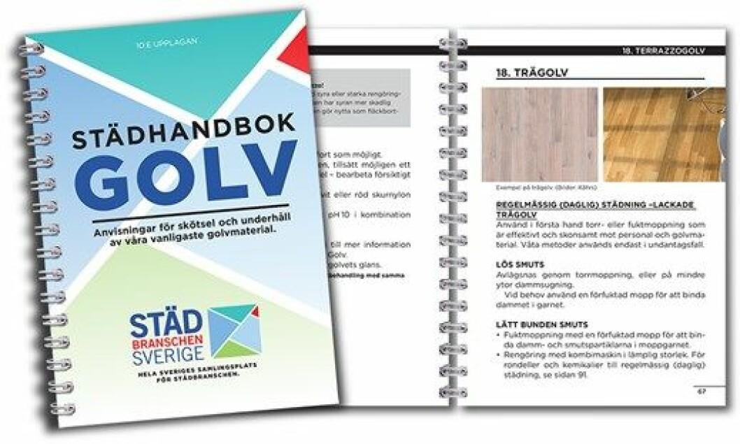 Stadhandbok golv 10 utgave