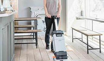 Kompakt gulvvasker til mindre arealer