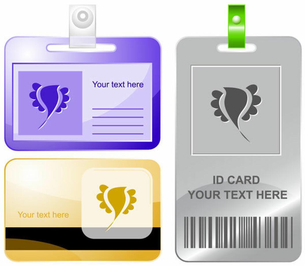 ID-kort Colourbox