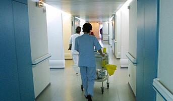 Pasienter klager på renhold