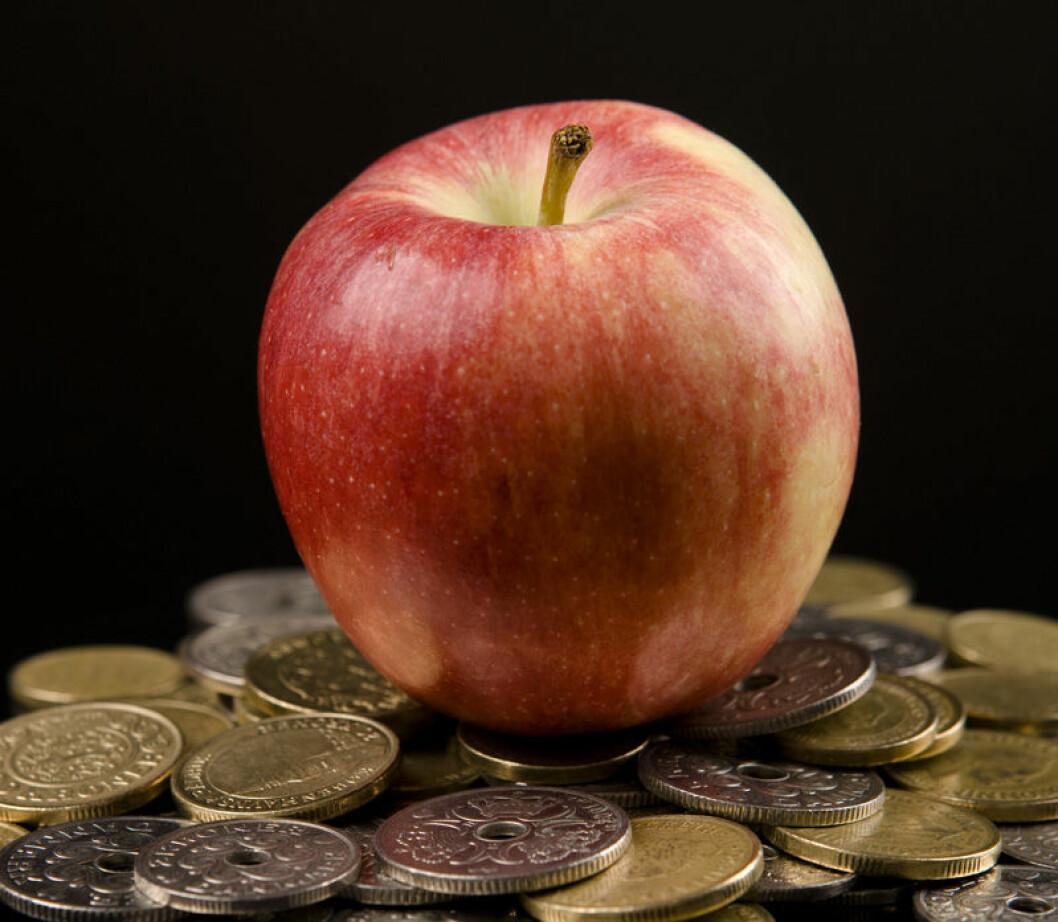 helse-penger-eple-colourbox.jpg