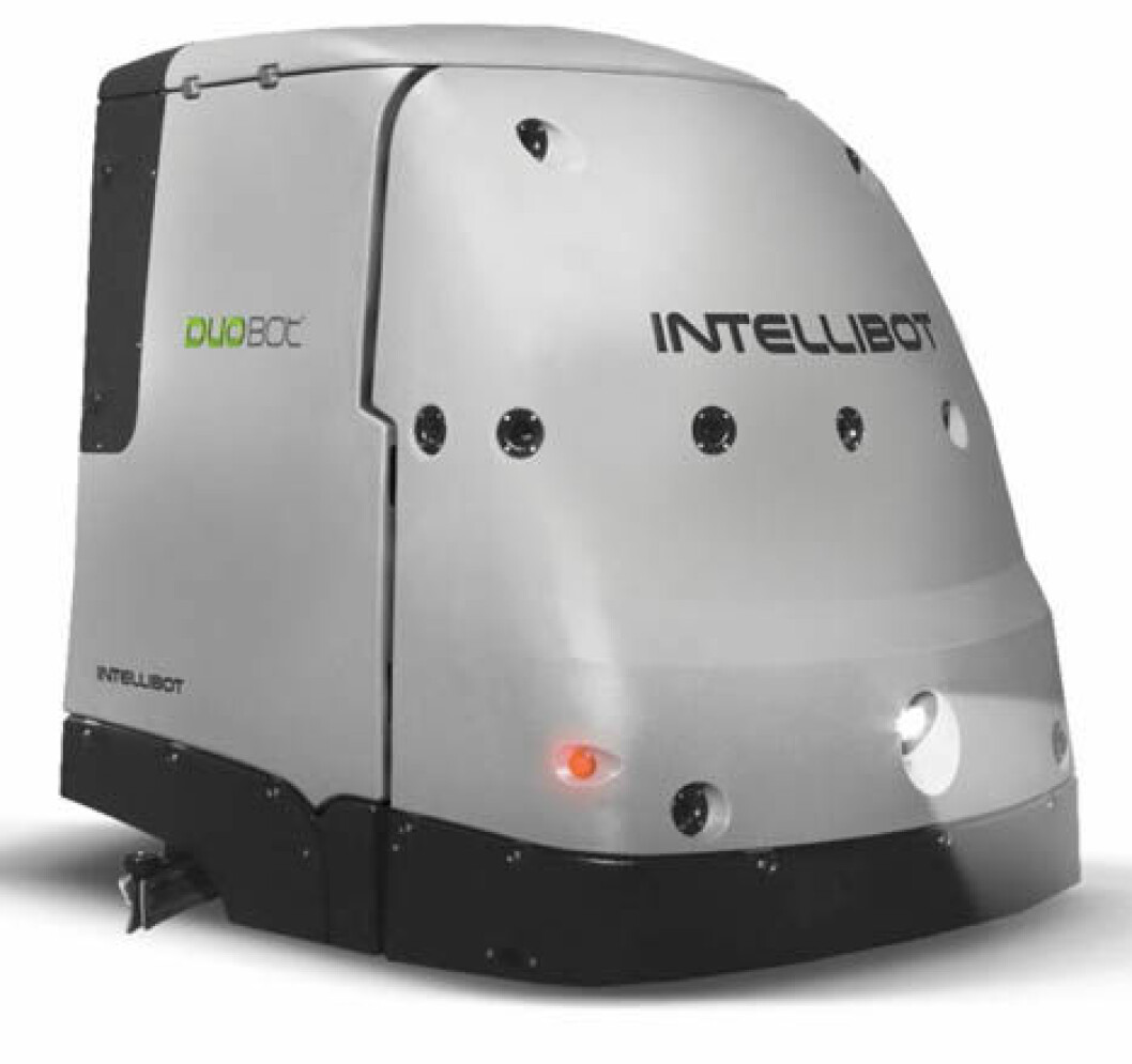 Intellibot sweeper scrubber