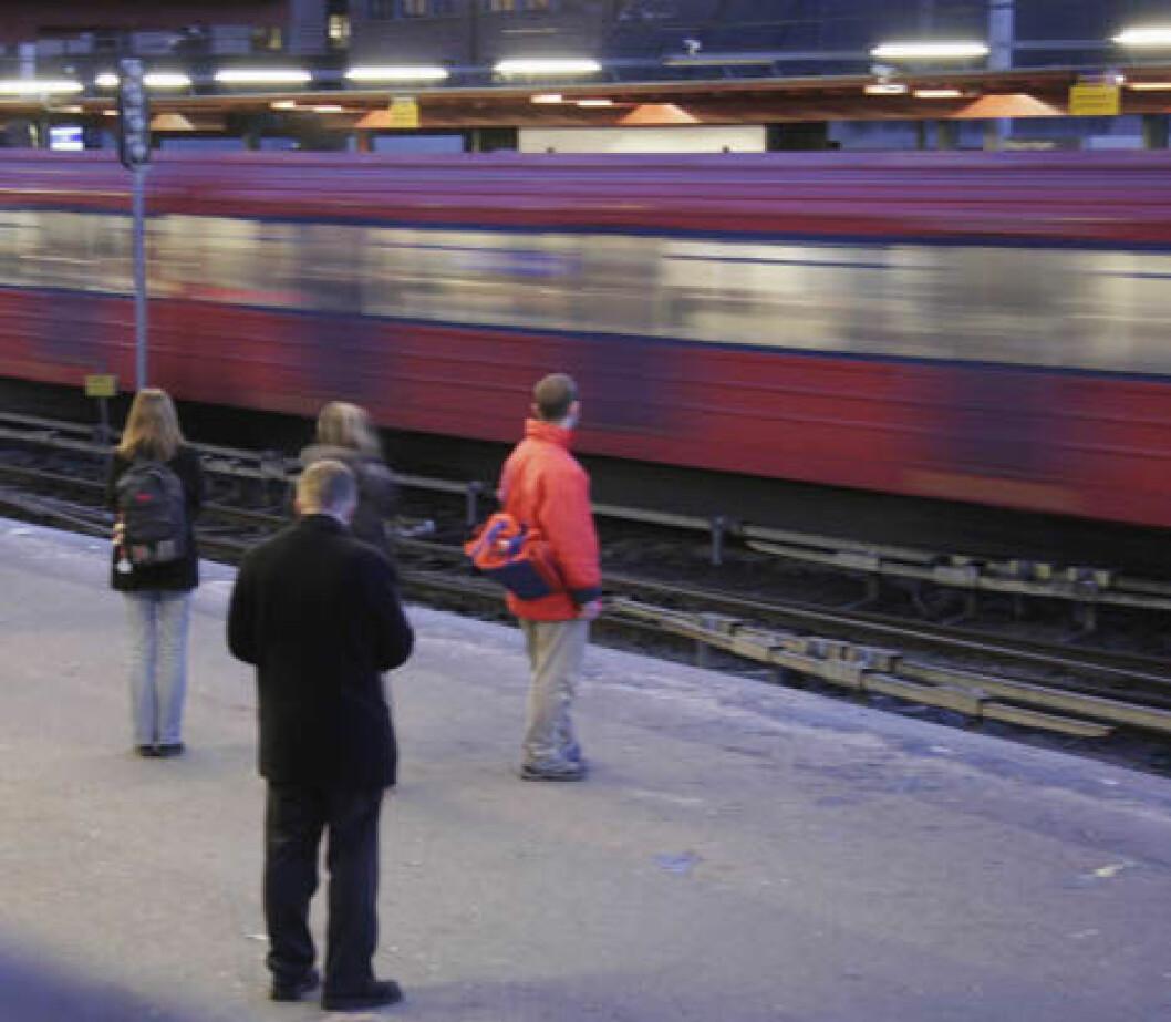 T-bane Majorstuen 2005 teh 7564