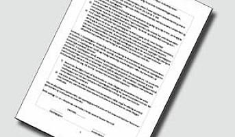 Standardkontrakt ved avtale om renholdstjenester