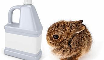 Vil ha slutt på at vaskemidler testes på dyr