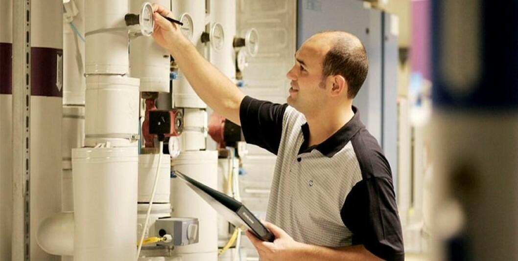 energi system foto ISS