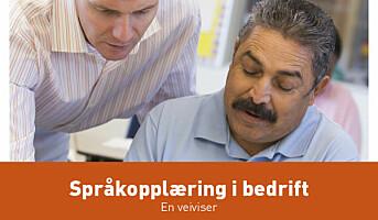 Norskopplæring på arbeidsplassen?
