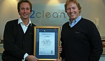 ISO 14001-sertifisert