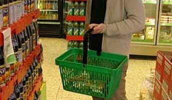 Mangler rutiner for rengjøring av handlekurver