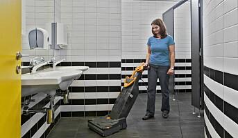 Kompakt og lett gulvvaskemaskin