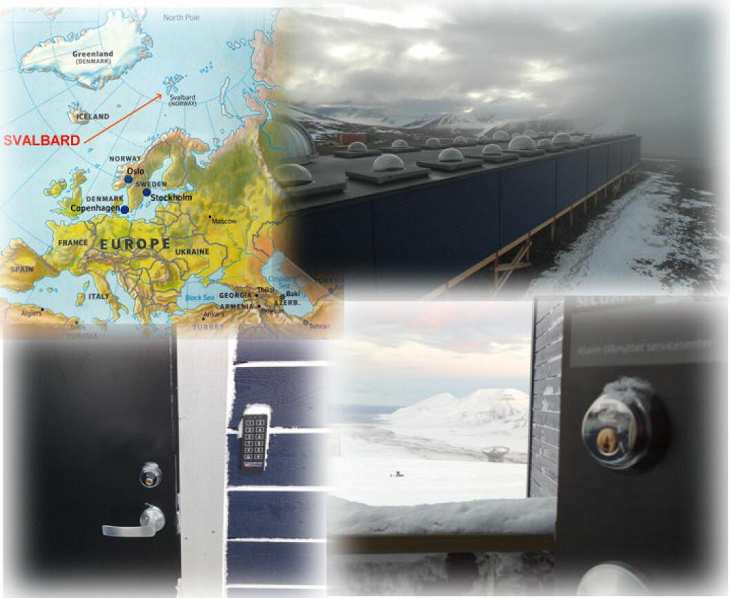 Svalbard-illustrasjon