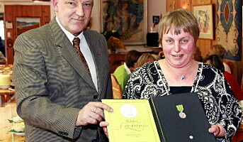 30 år som renholder ga medalje