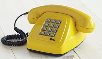 Oppretter skattesnusk-telefon