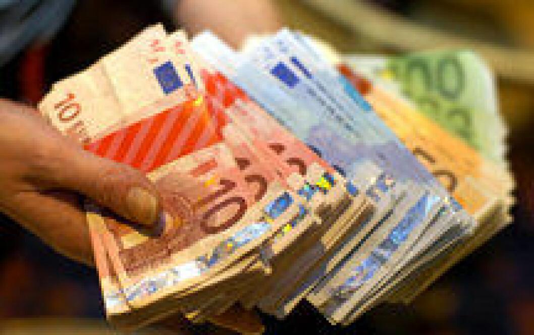 Euro-sedler