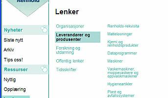 Lenkesamling for Renhold