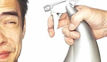 Rengjøringsspray gir astma