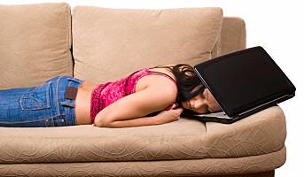 Sofa på resept til stressede kvinner