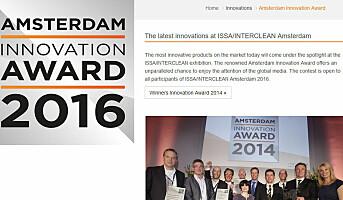 ISSA ønsker forslag til innovasjoner