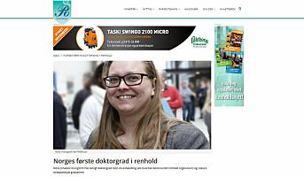 Mest populært på Renholdsnytt.no i 2015