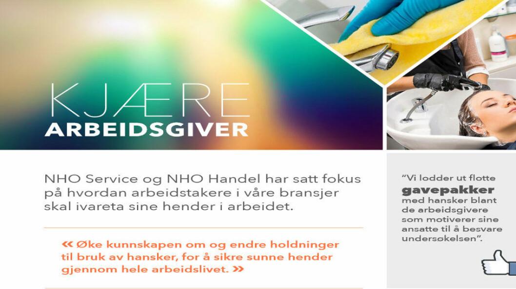 Faksimile fra prosjektet Sunner hender (NHO Service).