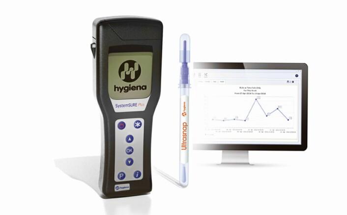 SystemSure, ATP-målinger fra Hygiena. (Foto: Produsenten)