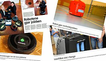 Roboter på fremmarsj