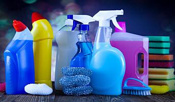 Moderat økning for renholdskjemikalier