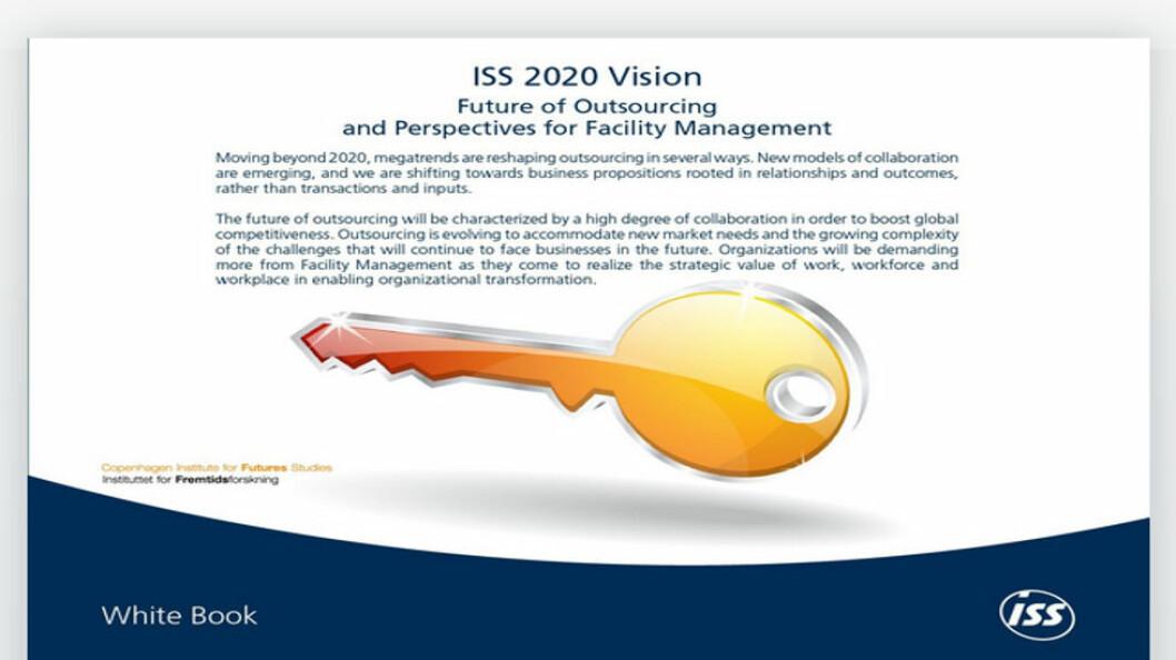 Faksimile fra rapporten «ISS 2020 Vision».
