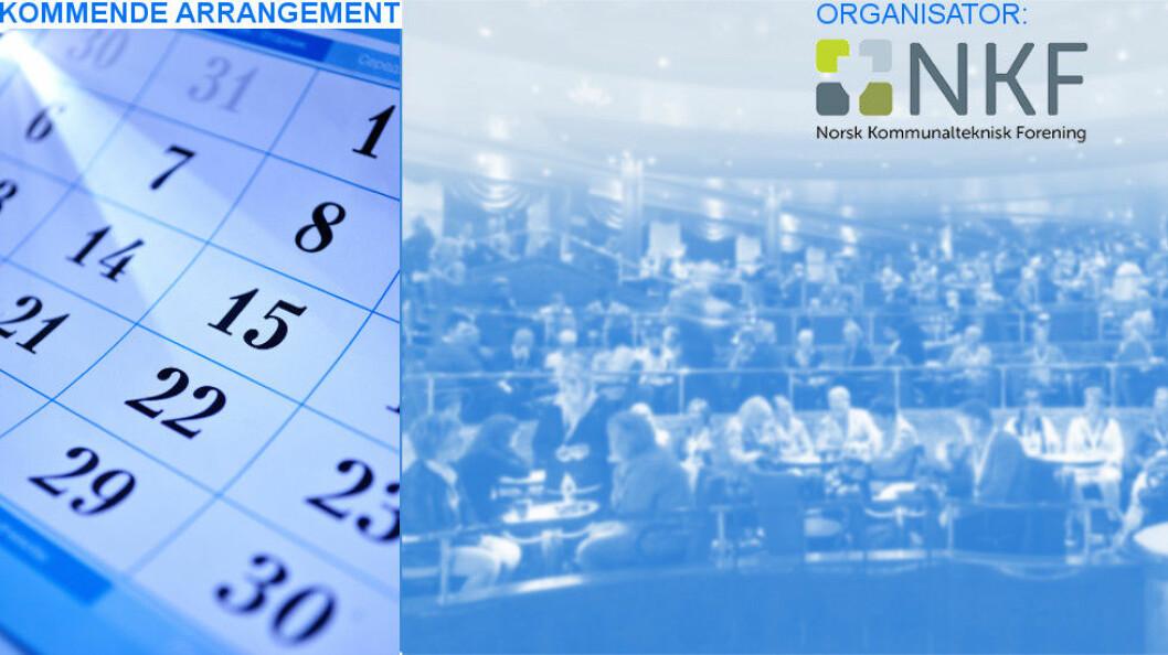 I oktober avholder Norsk Kommunalteknisk Forening sin neste nasjonale konferanse for bl.a. renholdsledere.