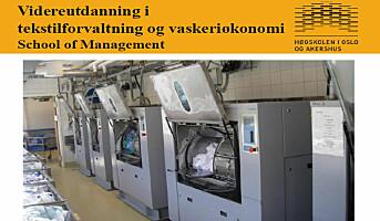 Videreutdanning i tekstil og vaskeri