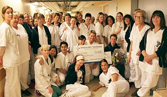 Arbeidsmiljøpris til sykehusrenholdere