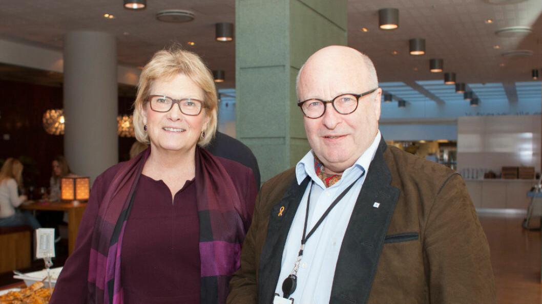 Anne Jensen og Petter Furulund er spent på mottakelsen for NHO Services nye omdømmekampanje for renholdsbransjen.