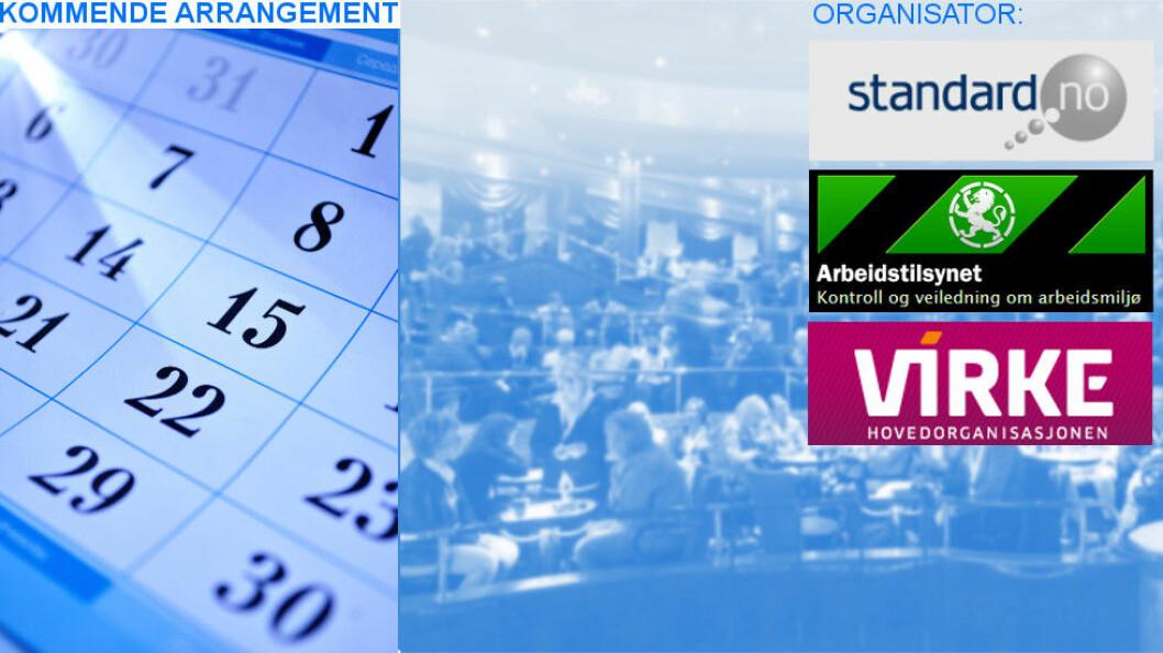 Seminaret holdes 21/4 kl. 08.30 hos Standard Norge.