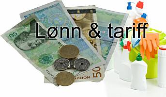 Ny minste tarifflønn for 2021: kr 194,64