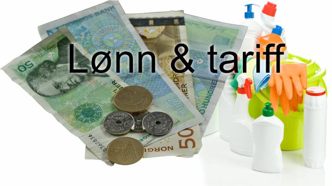 Bedrifter bundet av tariffavtalen risikerer å måtte betale 2016-satser, mens uorganiserte kan fortsette å betale etter 2015-satser. (Illustrasjon etter Colourbox)