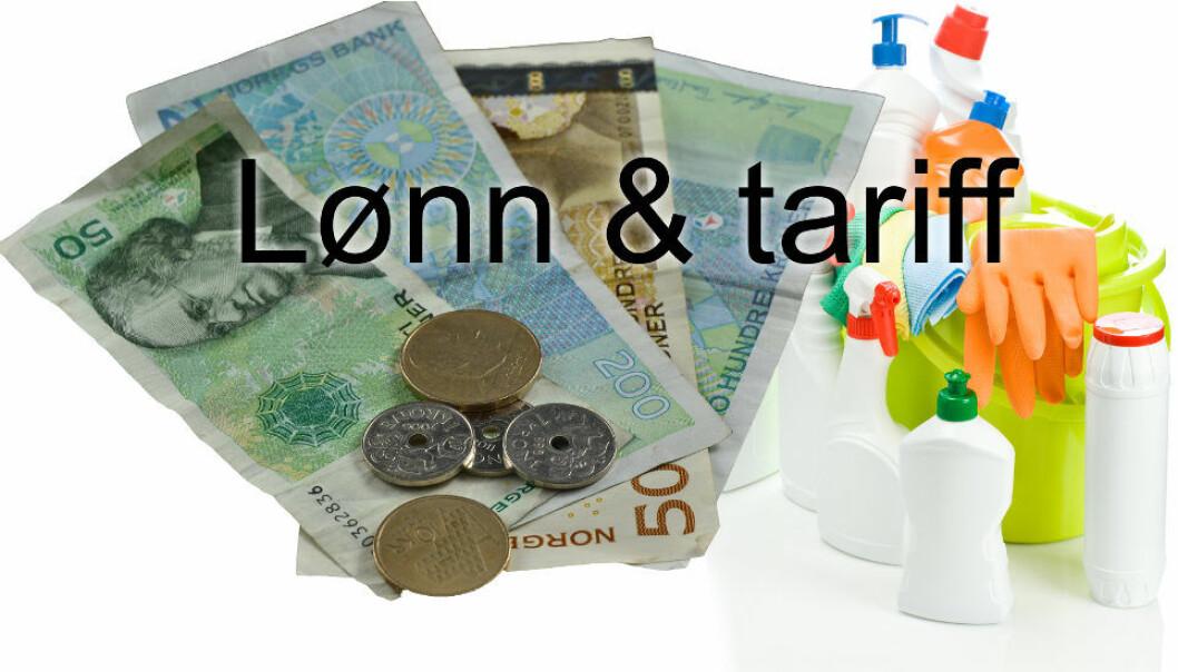 Lønnsoppgjøret for renholdere organisert i NAF vil finne sted 23-24/9.