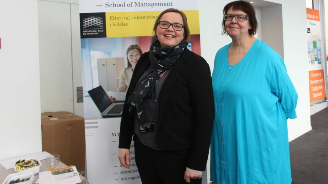 Høgskolelektor Ellen Nygard er kontaktperson for utdanningen, mens Åse Lindal er ekspert i tekstilforvaltning og vil stå for mye av undervisningen.