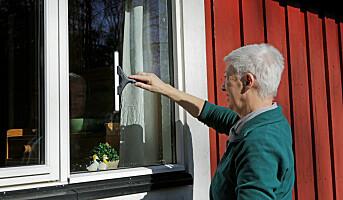 Så ofte vasker vi vinduene