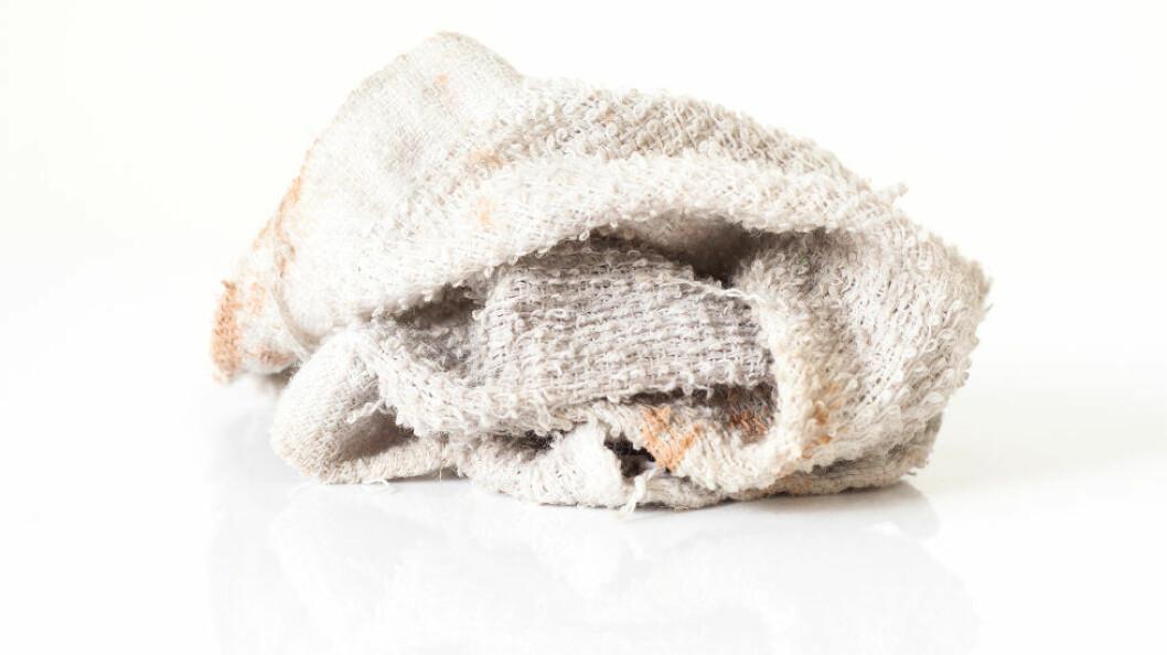 Skift håndkle etter tredje gangs bruk. (Ill.foto: Colourbox)