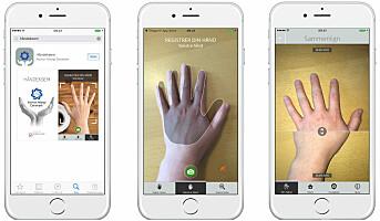 App mot håndeksem