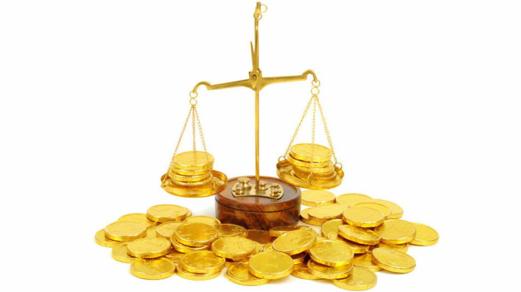 Renholdsbransjen er en av bransjene med minst lønnsforskjell mellom kvinner og menn. (Ill.foto Colourbox)